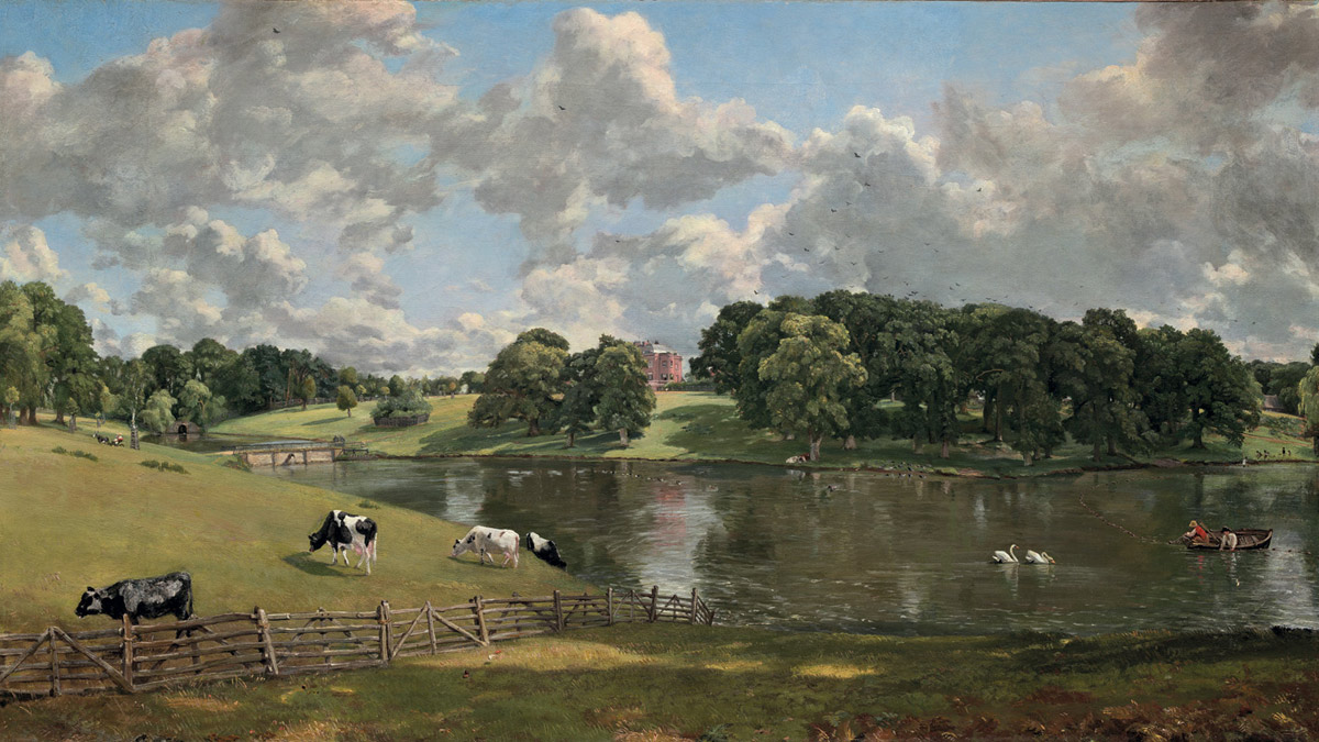 John Constable's painting of Wivenhoe Park)