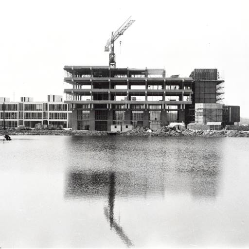 Albert Sloman Library under construction