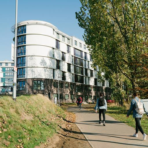 Arriving at Colchester campus | University of Essex