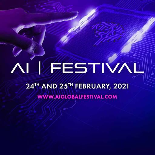 Promotional poster for the inaugural AI Global Festival