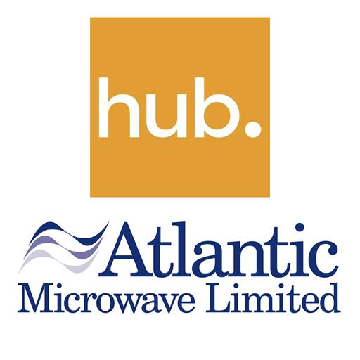 Hub and Atlantic business logos