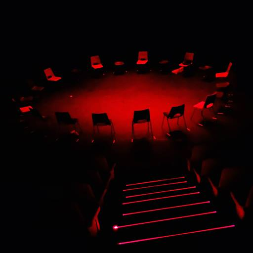 Drama students darkness