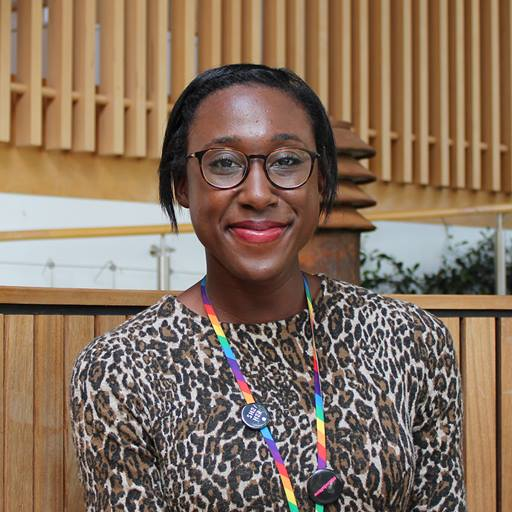 Jamais Webb-Small, Organisational Development Engagement Officer at the University of Essex and MSc Human Resource Management student at Essex Business School
