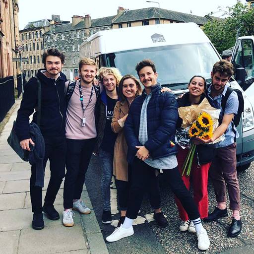 Students at the Edinburgh Fringe