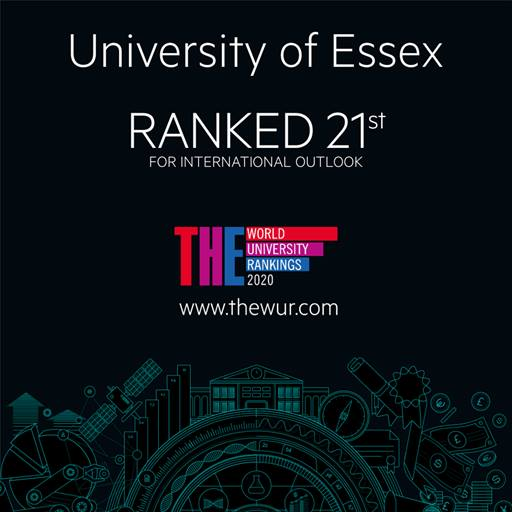 Logo for THE World University Rankings international outlook