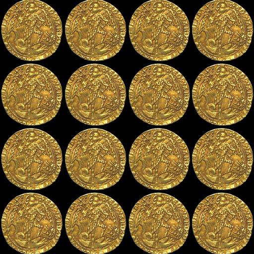 A collection of 15th Century coins