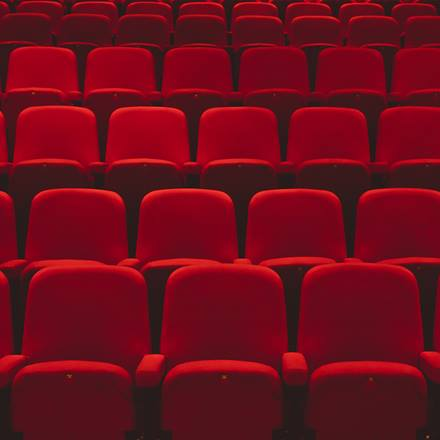 Lakeside theatre seats