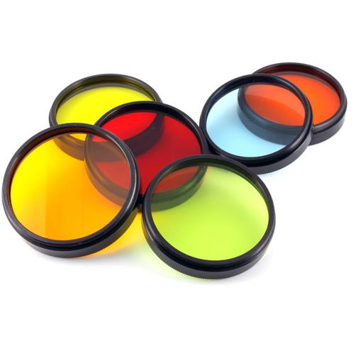 Coloured lenses