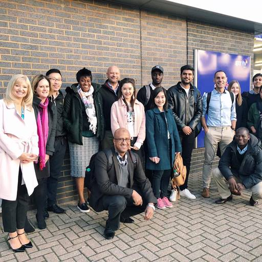 The Essex MBA students visit Innovation Martlesham as part of the Director's Workshops.