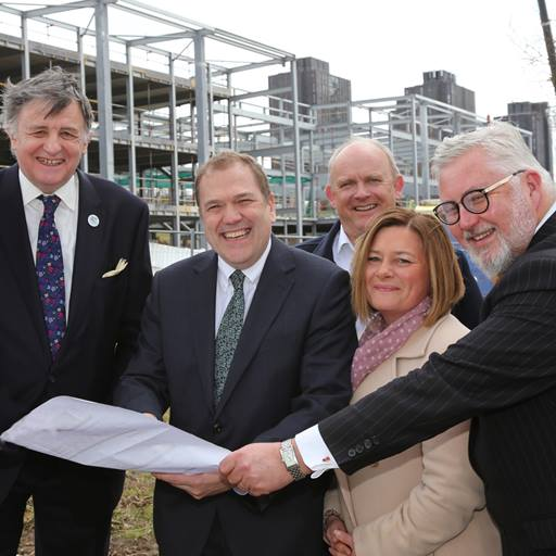Topping out of Innovation Centre