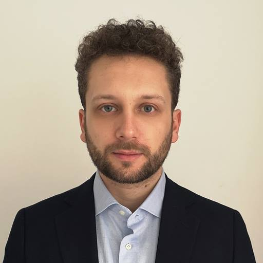 Headshot of Ludovico Luce, MSc Financial Engineering and Risk Management 2019 graduate