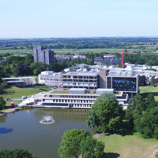 Aerial view of our Colchester Campus