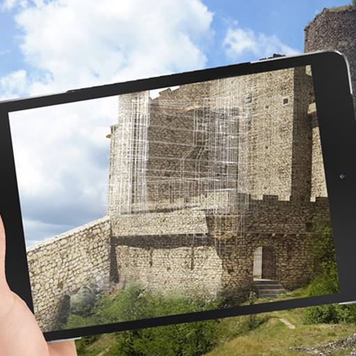 Tablet using augmented reality