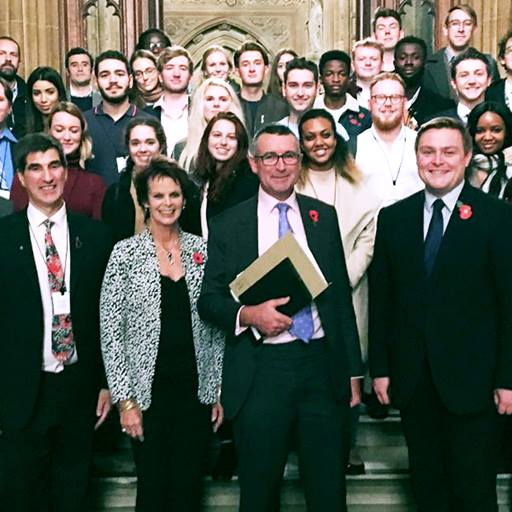 Essex students meet MPs in the House of Commons