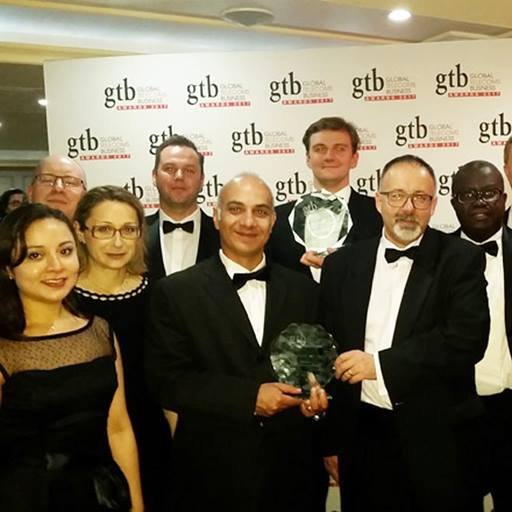 Our researchers and BT win a Global Telecoms Business (GTB) Innovation Award