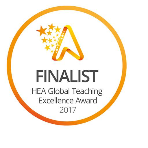 Logo for finalists in the Global Teaching Excellence Award 2017