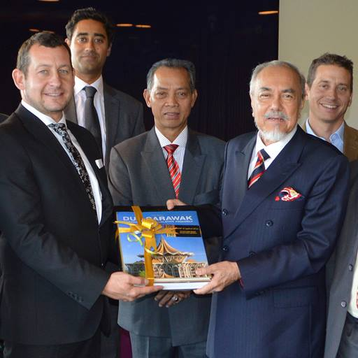 Malaysian delegation visiting Colchester Campus