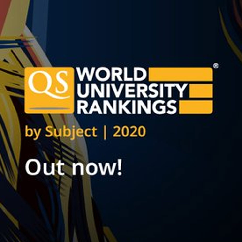 Qs World University Rankings By Subject Top Rankings For Essex University Of Essex