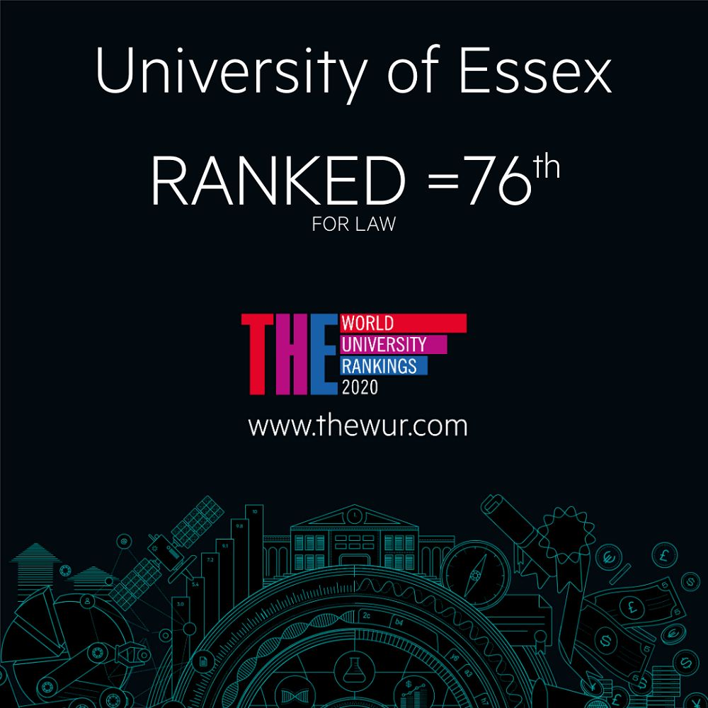 The World University Rankings logo for Law