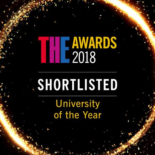 University of the Year shortlist logo