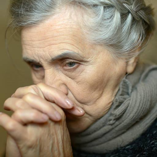 Picture of thoughtful woman
