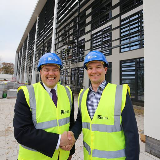 Bryn Morris and Gareth Scargill at the Innovation Centre