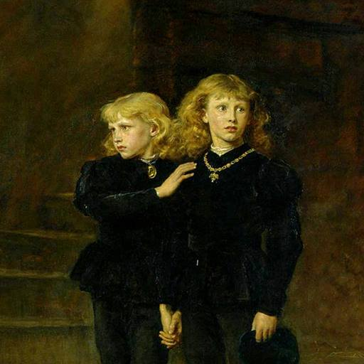 Sir John Everett Millais's portrait of the Princes in the Tower