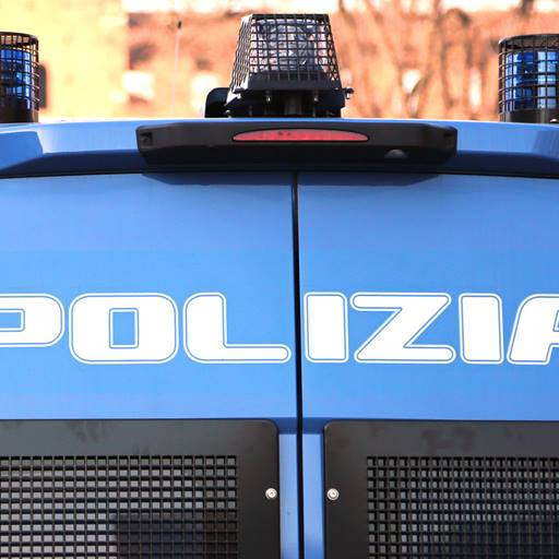 Photo of an Italian police vehicle
