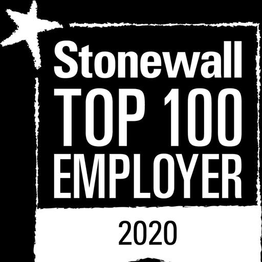 Stonewall Top 100 logo