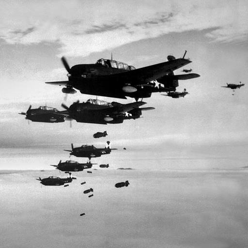 Fighter planes in World War 2