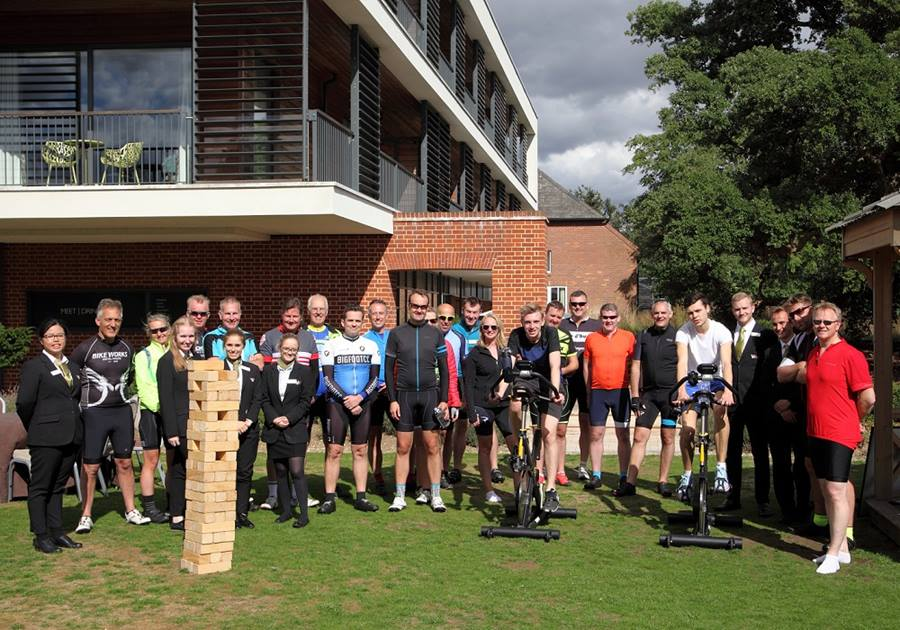 Cycle success for Edge Hotel School students