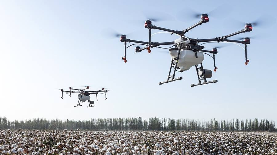 Drone Swarms for Precision Agriculture