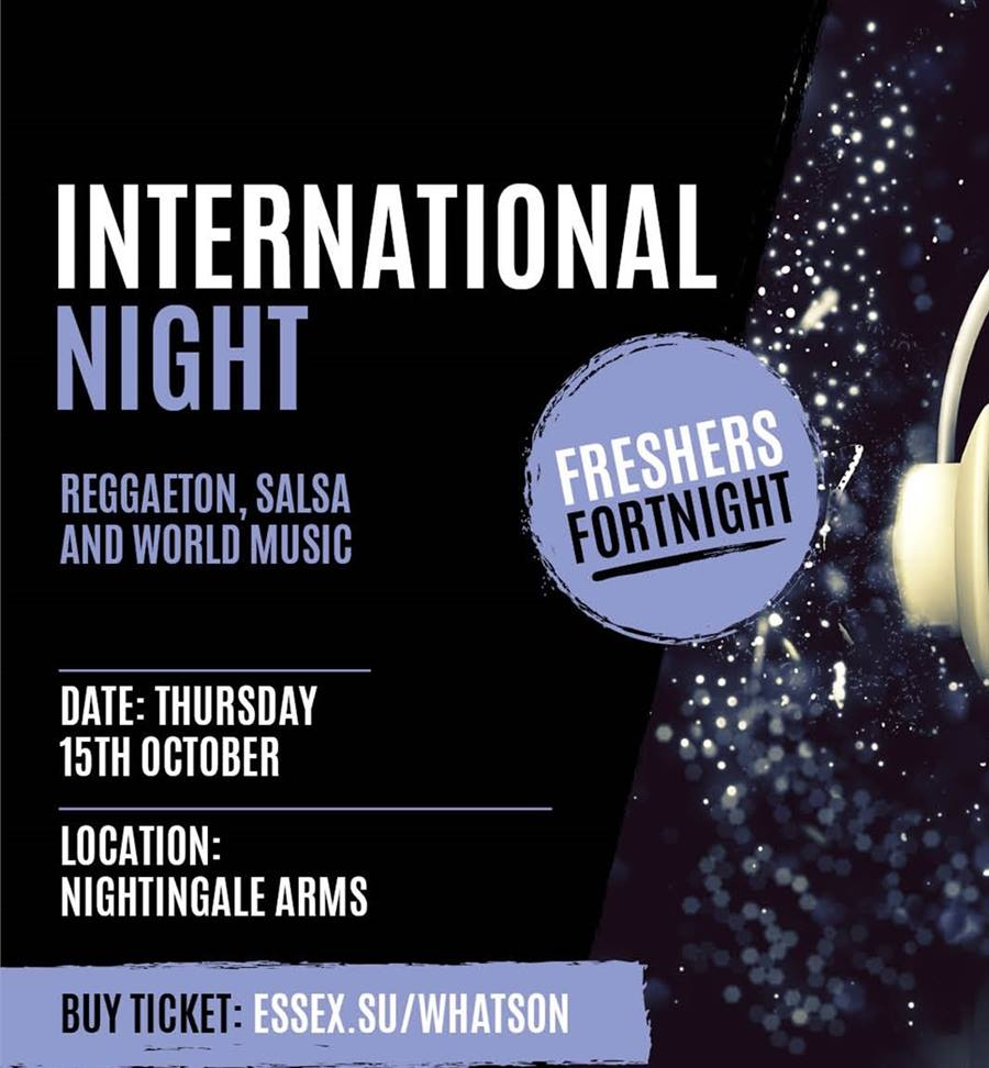 International Night with Reggaeton, Salsa, World Music