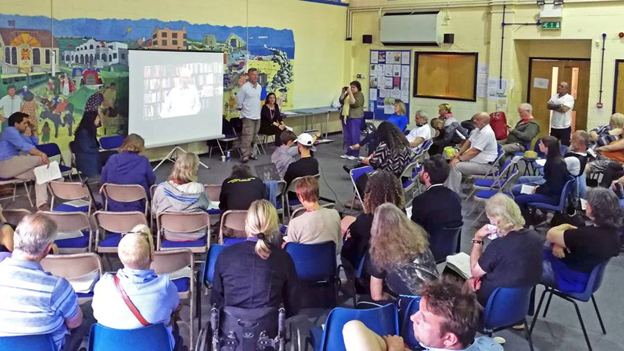 Jaywick meeting discusses human rights as response to extreme poverty