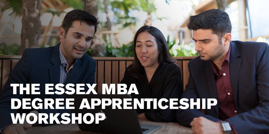 The Essex MBA Degree Apprenticeship Workshop