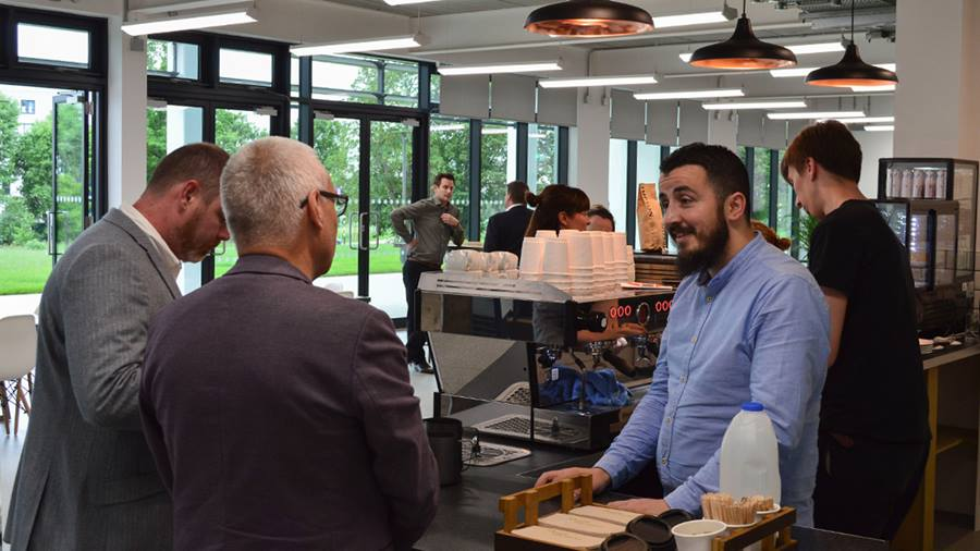 Innovation Centre café opens, promising quality, diversity and sustainability