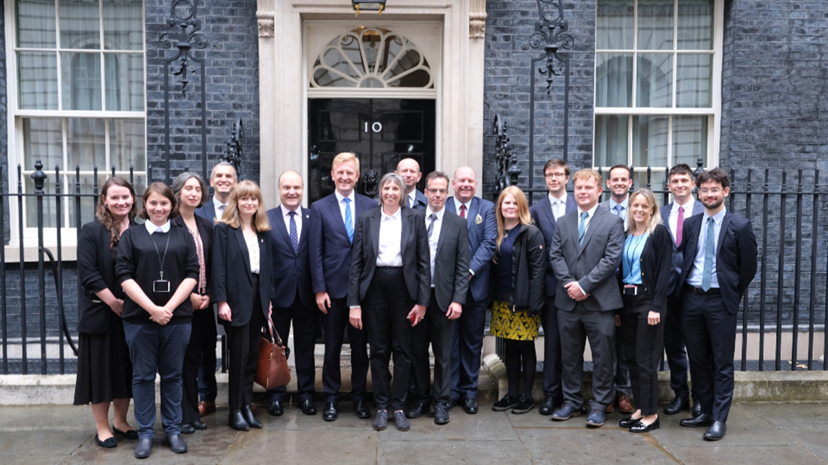 Minister for Implementation, the Open Innovation Team and representatives from the Universities of Essex, Brunel, Lancaster and York)