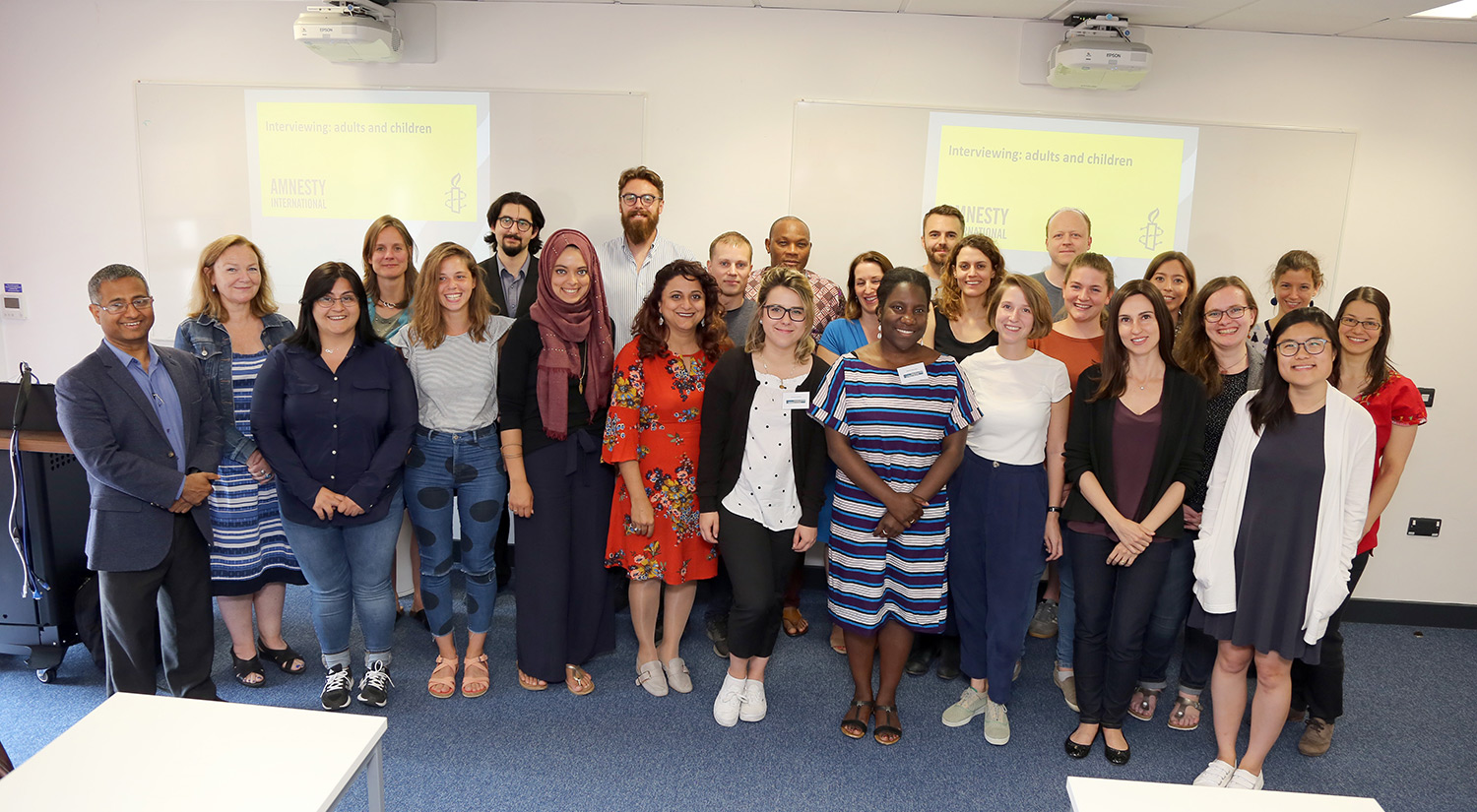 Human Rights Summer School Delegates 2018