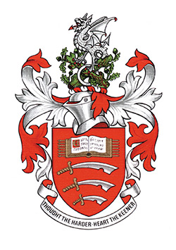University of Essex armorial bearings shield