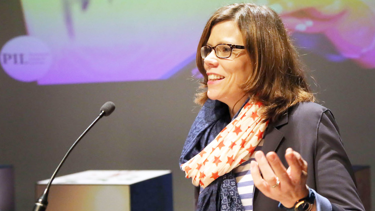 Professor Silke Paulmann delivers her Professorial Inaugural Lecture)