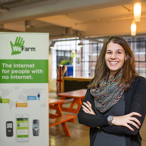 Michaela Peicheva at WeFarm