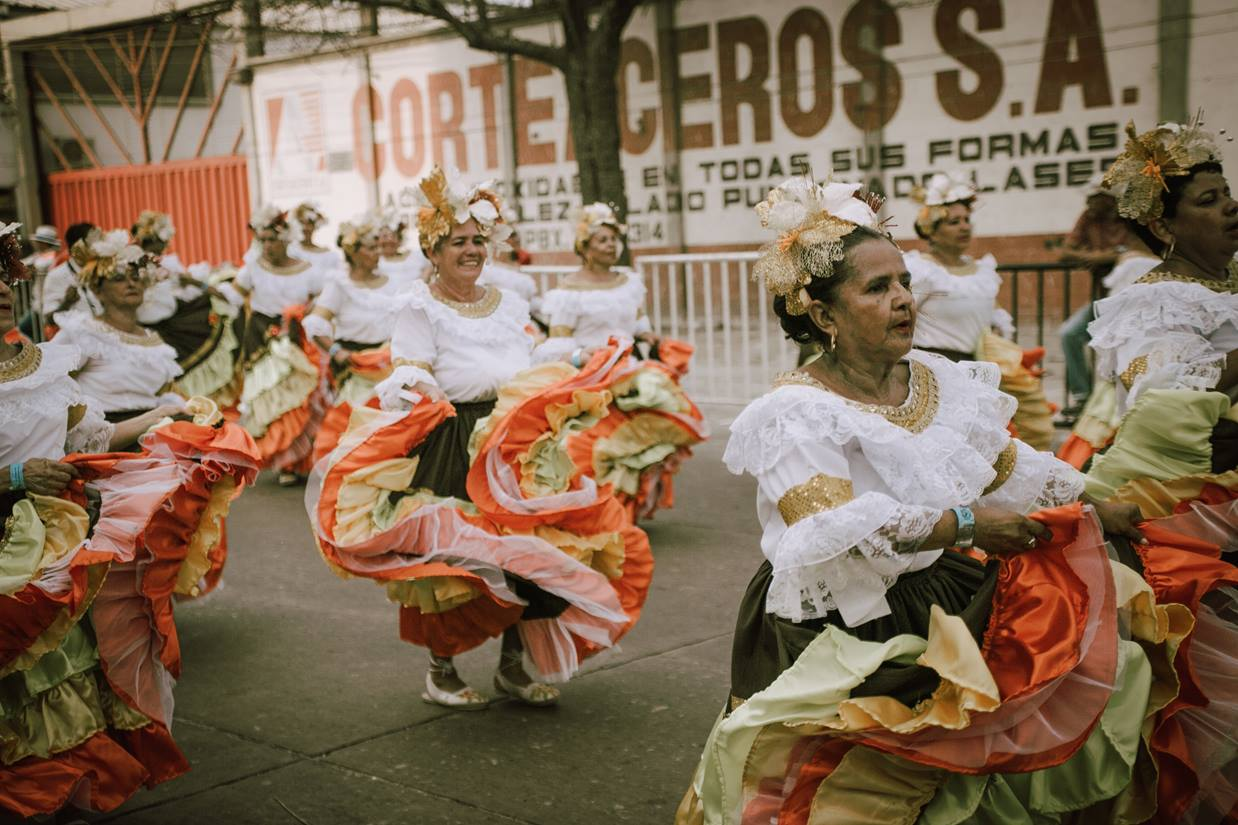 Experience the fiestas of Colombia