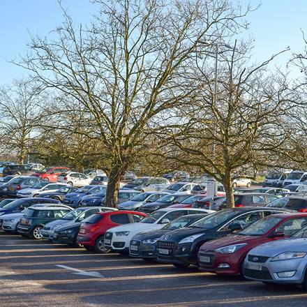 Image of Valley Car Park at the Colchester Campus