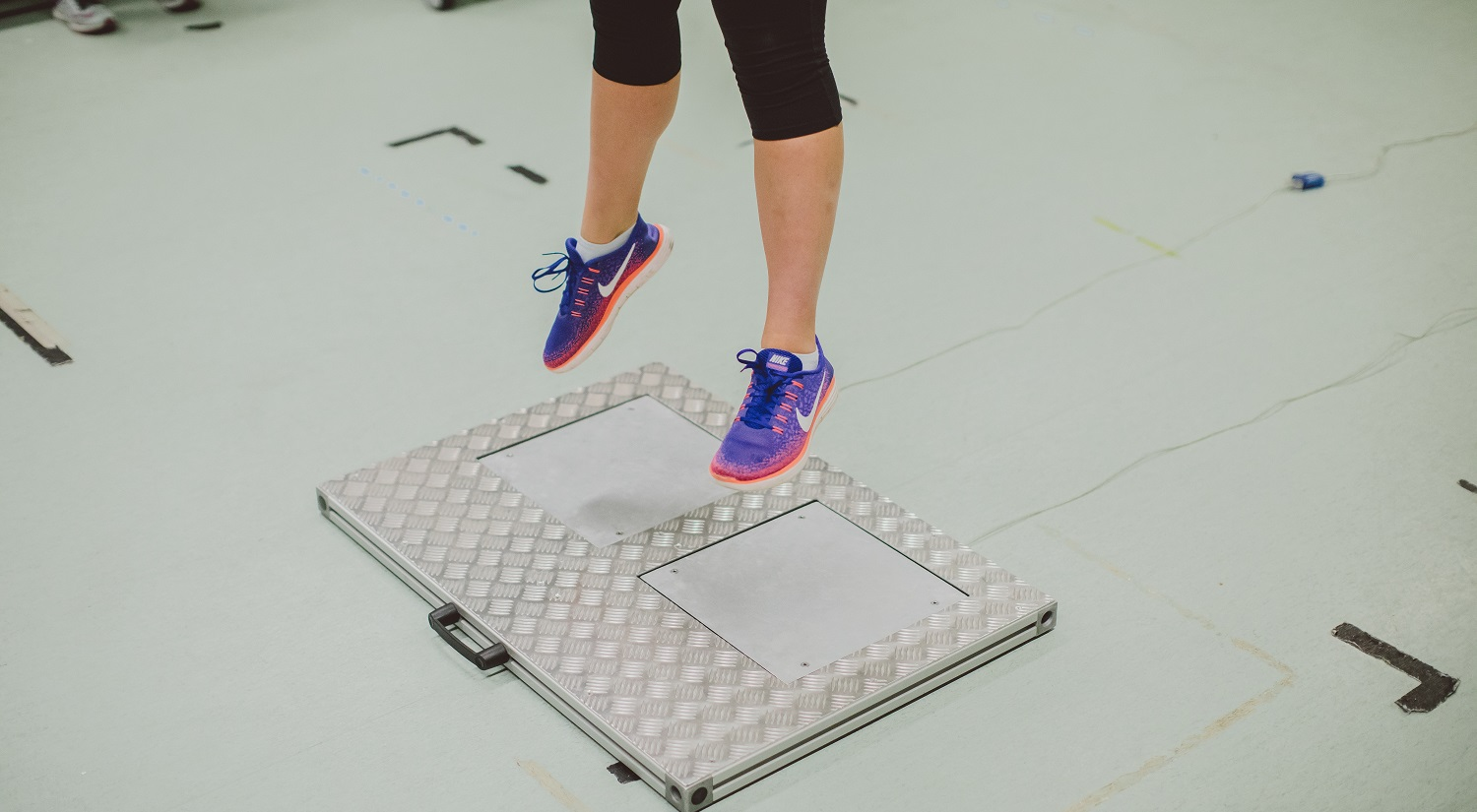 Our Biomechanics lab has a range of equipment used by students and researchers, including several types of forceplates.