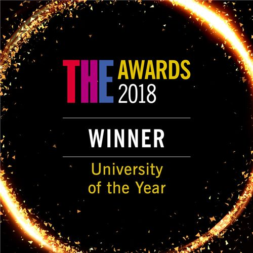 University of the Year badge