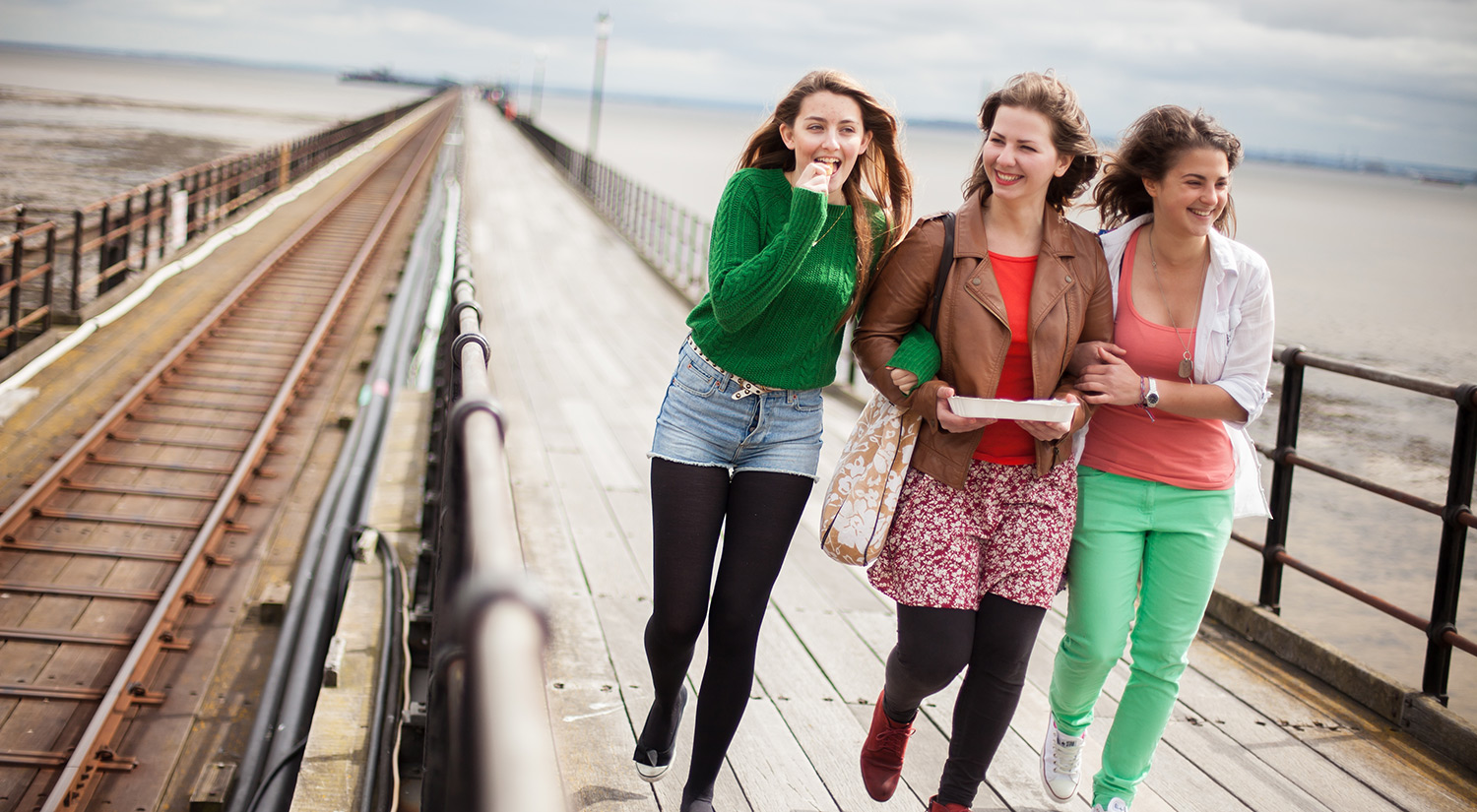 You can take a walk with friends down the world's longest pleasure pier