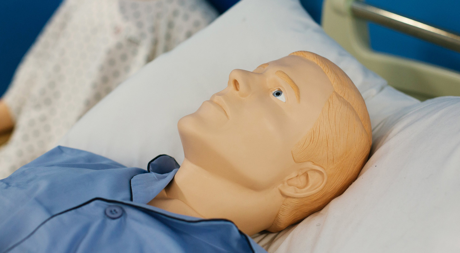 The patients can simulate illnesses from infections to heart attacks