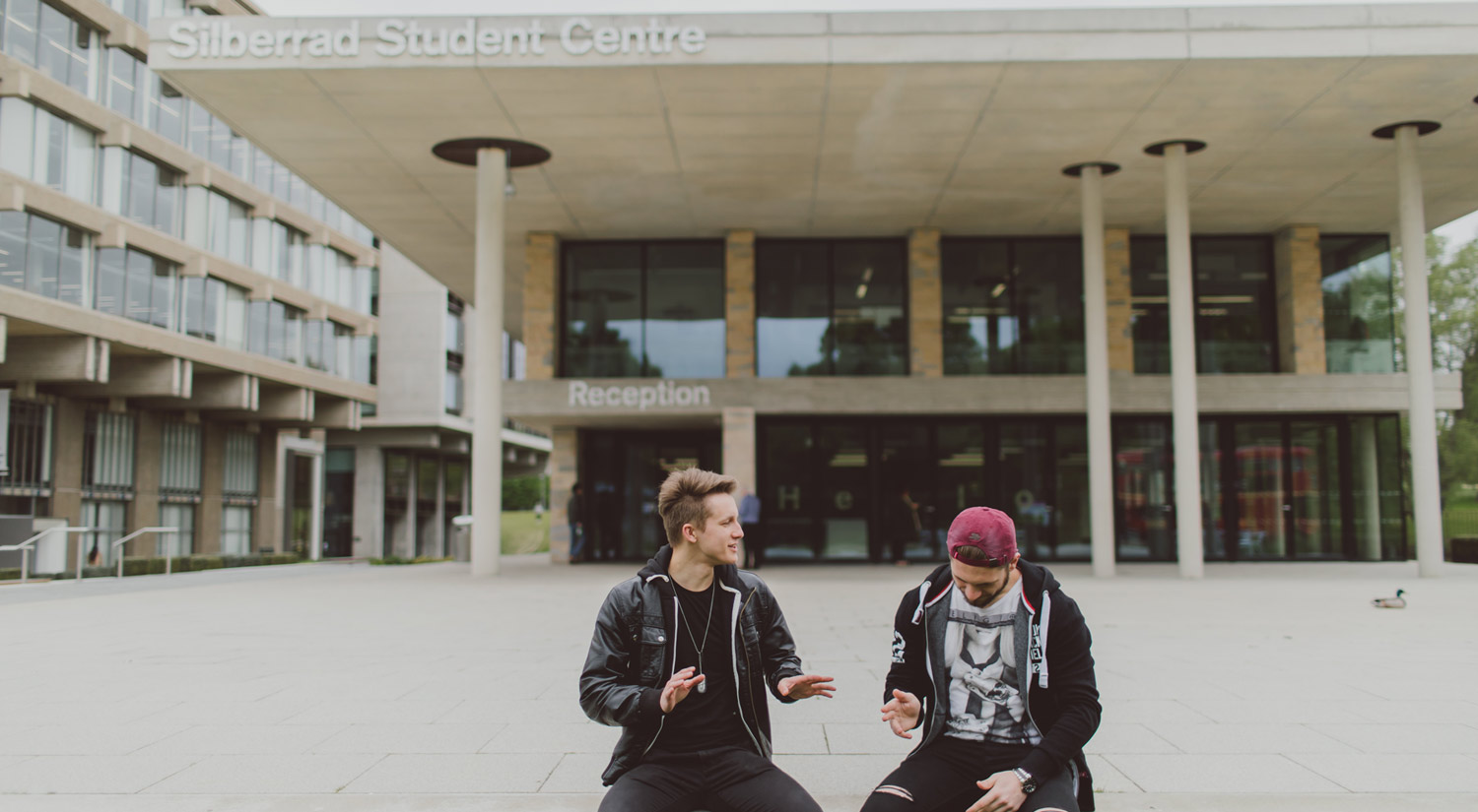 Our iconic buildings provide the perfect backdrop to student life