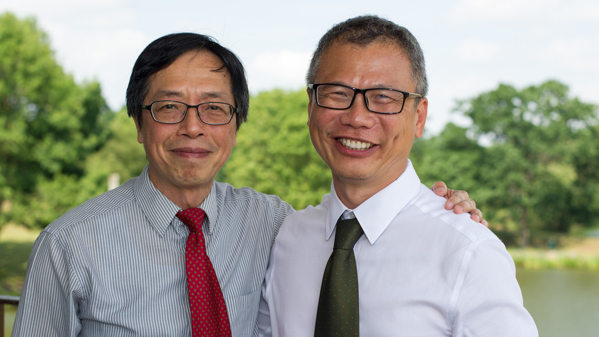 Professor Tsang and Yuh Choo)