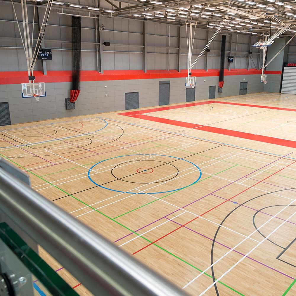 Essex sports arena flooring